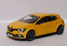Norev 3 inches 1/60.Renault Megane Rs Yellow Sirius New In Box Crystal Renault