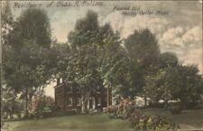 Shirley Center MA Chas K Bolton Home Pound Hill c1910 Postcard