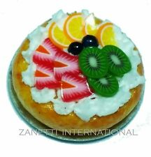 Dollhouse Miniature Fruit Pie * Doll Mini Food Sweet Bakery Tart Pastry Flan