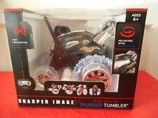 Sharper Image RC 360* Rally Car Thunder Tumbler Black NEW