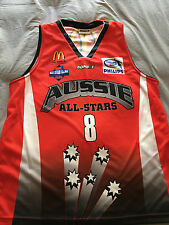 Peter Crawford NBL All Star jersey | Townsville Crocodiles | Perth Wildcats