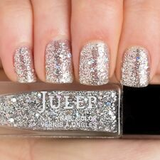 NEW! Julep nail polish AMIRA ~ Silver chunky holographic glitter top coat