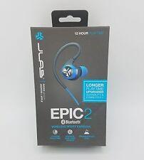 JLab Audio Epic 2 Bluetooth 4.0 Wireless Sport Earbuds (Blue Graphite) FAST SHIP