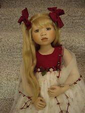 "Elite Dolls ""Jessica""By Christine Orange 36"" Tall Porcelain Doll"