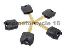 5pcs Llave En Blanco Hoja Sin Cortar para Kawasaki NINJA ZX12R ZX-10R ZX10R ZX6R