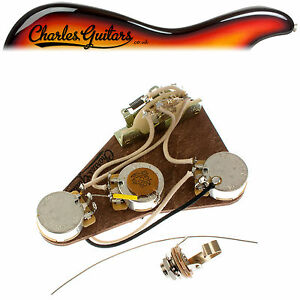 LUXE STRAT 1964 - 1971 PRE-WIRED KIT (CH16032)