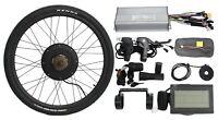 36V 1200W 48V 1500W Electric Bicycle Ebike Conversion Kit Rear Wheel 20''-29''