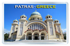 PATRAS GREECE FRIDGE MAGNET SOUVENIR IMAN NEVERA
