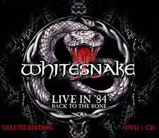 Whitesnake: Live in 84 - Back to the Bone ( CD/DVD) LTD DIJIPACK