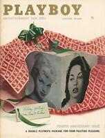 PLAYBOY DECEMBER 1957 Linda Vargas Lisa Winters Hugh Hefner interview (2)