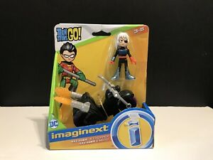 Imaginext Teen Titans Go RAVAGER Rose Wilson Daughter Of Deathstroke & Chopper
