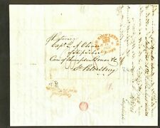 May 26 1837 New York - London - St. Petersburg Russia letter re: HEMP shipping