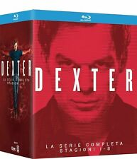 Blu Ray DEXTER - Stagioni Complete 01-08 - (Box 32 Blu-Ray Disc) Serie Tv..NUOVO