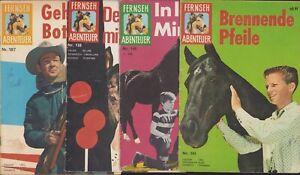 Fernseh Abenteuer (Neuer Tessloff, 1959-1964) 8 Hefte