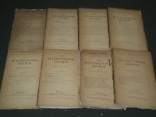 1882-1883 THE INTERNATIONAL REVIEW MAGAZINE LOT OF 8 - GREAT ARTICLES - WR 867