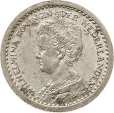 Kgr. Niederlande, Wilhelmina,10 Cents 1911