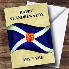 4 Set-écossais Drapeau Coaster-Écosse Sautoir St Andrew Papa Oncle Cadeau #15675