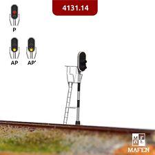 Mafen - 4131.14 - Señal luminosa 2 aspectos (rojo/ambar) Fine Scale