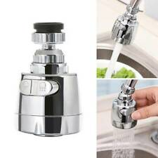 Moveable Kitchen Tap Head 360° Rotatable Faucet Water Saving Filter Sprayer #v