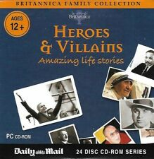 Britannica Family Collection : Heroes & Villains : Promotional CD Rom
