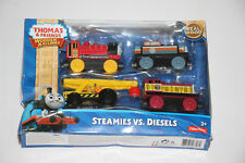 Thomas The Tank Engine Wooden Railway Steamies Vs Diesels
