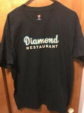 DIAMOND RESTAURANT Since 1945 Charlotte NC ~ Men's Large ~ Black T Shirt