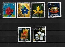 Sri Lanka,  1976 Flora & 1977 Kings Regalia, complete sets used  (C002)