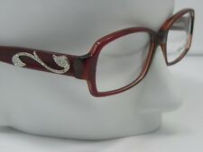 New SALVATORE FERRAGAMO 2640-B 462 RX soft red  eyeglasses 53-15-135    E716
