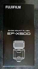 Brand New Fujifilm EF-X500 TTL Flash One Year Gaurantee