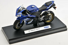 BLITZ VERSAND Yamaha YZF-R1 2008 blau / blue Welly Motorrad Modell 1:18 NEU OVP