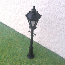 8 Pcs O Scale Long Life Antique Lampposts Cold LEDs Made Not Hot No Melt #h8