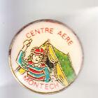 RARE PINS PIN'S .. TOURISME CAMPING CAR CARAVANE CENTRE AERE MONTECH 82 ~BL