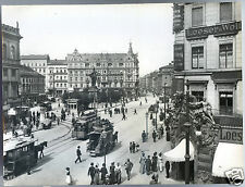 PHOTO;Allemagne.1898.BERLIN. Alexanderplate mit der berolina .