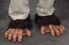 Chimpanzee Feet Chimp Great Ape Monkey Adult Shoe Covers Latex Halloween Costume