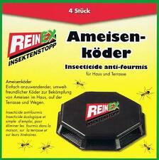 8x Ameisenköder Insekten Köder Insektenstopp Ameisenköderdose Ameisenfalle