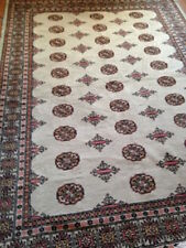John Lewis Pakistan Bokhara 100 Wool Oriental Rug 257 X 172 Cm