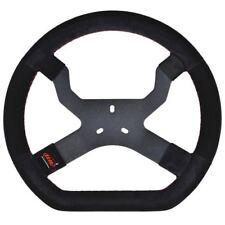 AIM Mychron 5 volante in nero con 3 Bulloni Fissaggio UK negozio Kart