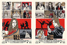 Kill Bill Variant Ap S/N of 10 By New Flesh , not Tyler Stout mondo