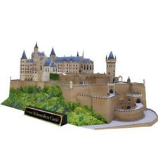 3D Puzzle Assembly  HOHENZOLLERN CASTLE, GERMANY CRAFT PAPER Adult Puzzle Game