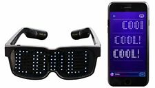 Unique Bluetooth LED Glasses - Display Messages, Animation, Drawings!