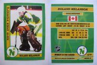2015 SCA Roland Melanson Minnesota Stars goalie never issued produced #d/10