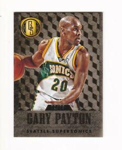 2014-15 NBA Panini Gold Standard Card - Gary Payton, Supersonics #d/79, LOW #