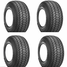 Set of 4 Golf Cart Tires Only 18x8.50-8 Kenda Stock Height No Lift Needed
