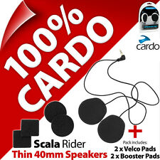 Cardo Scala Rider Thin 40mm Speakers Set Freecom SmartPack PackTalk G9x Q3 Q1 Qz