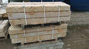 Sandstein Blockstufen, Sandsteintreppe 200 x 35 x 15 cm - jetzt ansehen!