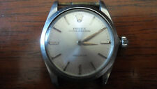 Vintage 6430 Rolex Oyster Speed King Precision Swiss Stainless Wrist Watch