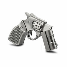 Metal Gun Model 32GB USB Flash Drive Memory Stick Thumb Pen Drive Storage Gift