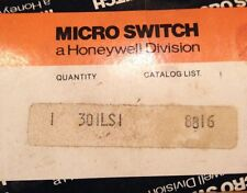 HONEYWELL MICROSWITCH 301LS1 8810 301LS1 Limit Switch NOS