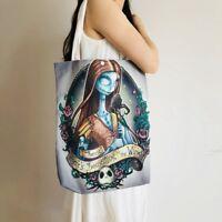 The Nightmare Before Christmas bride shopper bag sling bag gift Totes handbag