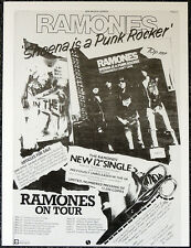 THE RAMONES SHEENA IS A PUNK ROCKER POSTER PAGE . Q15